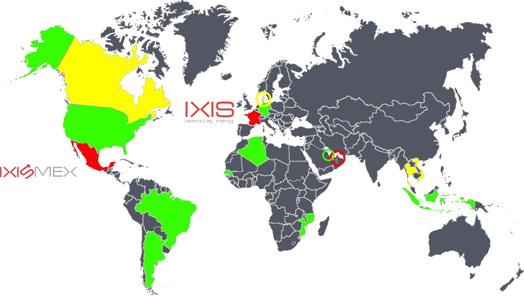 Ixis Map